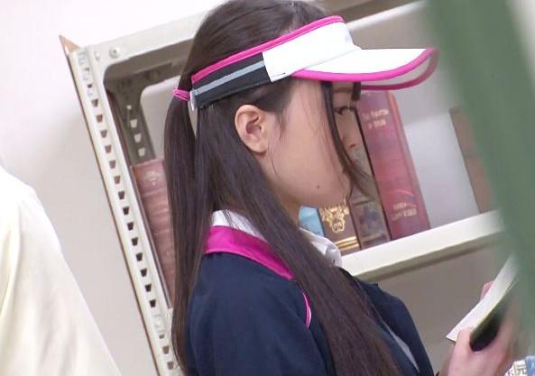 部活帰りのテニス少女が図書館でチカンに遭遇しそのまま声我慢レイプされる