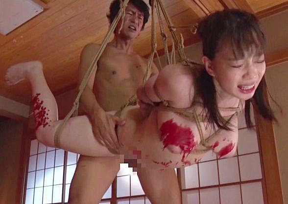 むっちり美人のキャリアOLが調教師に緊縛宙吊りファックで激しく犯さる<斉藤みゆ>