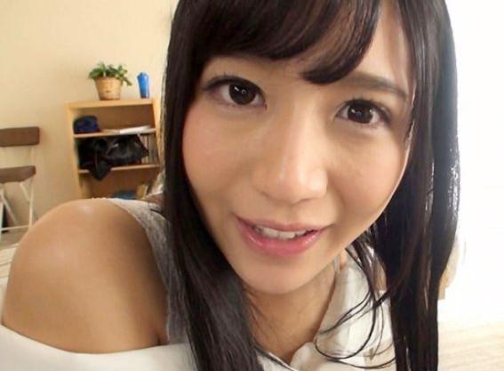 美少女AV女優が彼女として主観画面でイチャラブファック!
