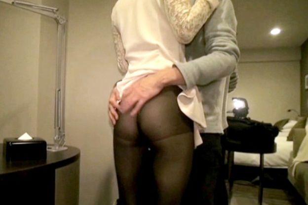 モデル級の美女が股間を濡らしてホテルで激しくハメ撮りsex!