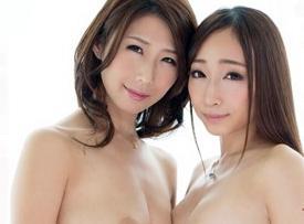二人のS級セクシーアイドルが女同士で濃密なレズセックス