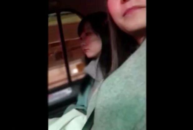 お持ち帰りした女子大生とエッチするために車で移動中www部屋に入ったら飲み直してハメ撮りsex