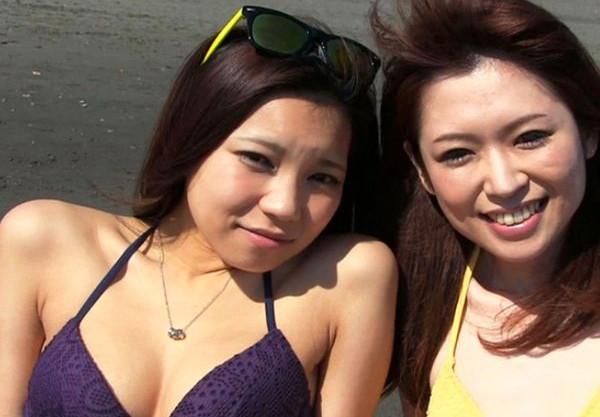 湘南のビーチでナンパしてきた可愛いビキニギャルにホテルでバイブ責めして即ハメsex