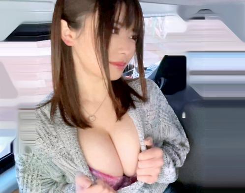 おっぱいで良ければ…どうぞ…アアン!強烈にデカい爆乳Jカップを見せつける素人お姉さんが肉食露わに獰猛セックス